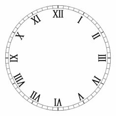 I promised, a couple of weeks ago, that I would share my clock face print-outs. I was waiting until I made the Christmas clock I mentioned i...