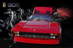 Ferrari 308 - Photograph
