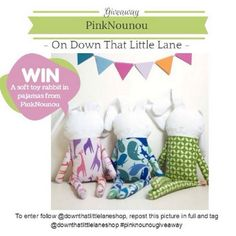 #Giveaway - just follow Down That Little Lane and repost this picture at your Instagram with the tag @downthatlittlelaneshop #pinknounougiveaway