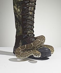 How To Prevent Snake Bites? Wear Snake Boots.