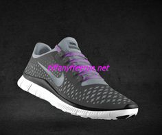 Nike Free 3.0 V4 Womens Wolf Grey Blue