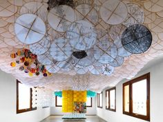 JACOB HASHIMOTO 'Hashimoto's installations are, at one and the same time, a tangible exploration of the fascinating possible intersections between painting and sculpture, figuration and abstraction, nature and artifice.'