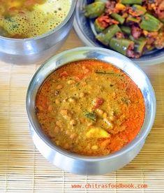 Karamani Kuzhambu – Thatta Payaru Kulambu Recipe | Chitra's Food Book