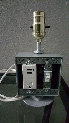 Usb plug outlet Lamp