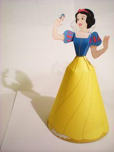 Disney Princess 3D Paper Dolls: d_princesses