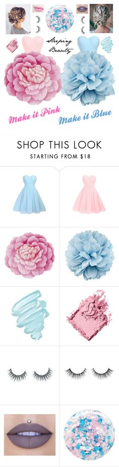 """""""Sleeping Beauty (make it pink, make it blue)"""" by emma-be-awesome ❤ liked on Polyvore featuring Ballard Designs, Gucci, Anastasia Beverly Hills, Obsessive Compulsive Cosmetics, Bobbi Brown Cosmetics, Unicorn Lashes, Jeffree Star and Nails Inc."""