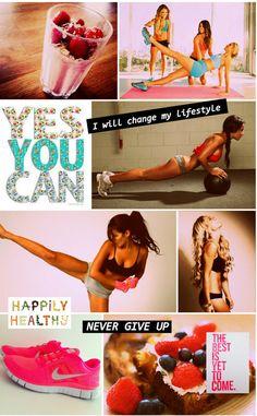 Inspiratie foto's en teksten voor afvallen/sporten - Girlscene Forum