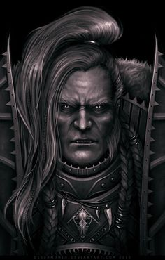 WARHAMMER 40000 Leman Russ, also known as the Wolf King and the Great Wolf during his lifetime, is the currently missing Primarch of the Space Wolves Chapter of Space Marines. He led the Space Wolv...