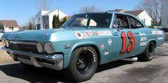 #vintage nascar#chevy impala