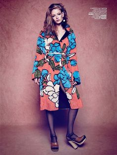 Holly May Saker for Marie Claire Italia February 2015