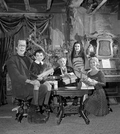 The Munsters at Christmas