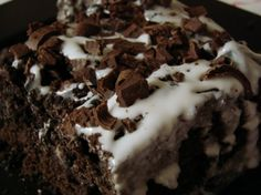 Ingredients  For Cake:  1 pkg. chocolate cake mix  1 pkg. instant chocolate pudding mix  4 eggs  1/2 cup water  1/2 cup vegetable oil  1/2 cup white rum    For Rum Glaze:  1/2 cup butter  1 cup white sugar  1/4 cup white rum  1/4 cup water  Instructions