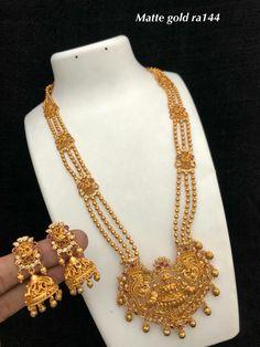 India Jewelry, Pearl Jewelry, Antique Jewelry, Gold Jewelry, Beaded Jewelry, Gold Necklace, 1 Gram Gold Jewellery, Wedding Costumes, American Wedding
