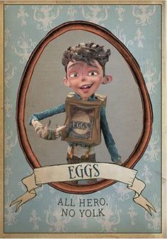 Eggs from The Boxtrolls