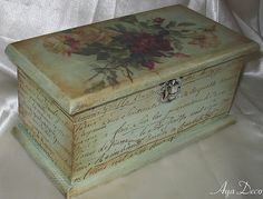 Decoupage Box | Decoupage Box | Agnieszka Radtke | Flickr
