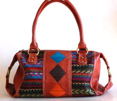 Sprightly So Tribal Print Handbag