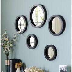 Circle Mirror Set Of 5 Kirkland S