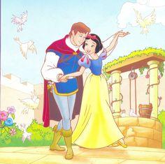 Snow white and prince ferdinand - disney