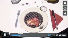 レストランのテーブルを使ったプロジェクションマッピングがすごいしかわいい | IDEA*IDEA