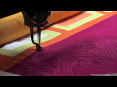 Quilting Swirls video by Angela Walters