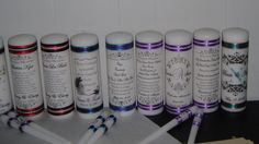 Unity Candles and Memorial Candles