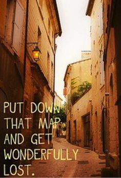 Just, get lost.