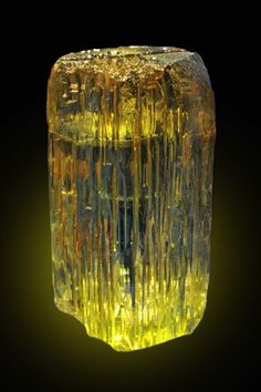 Beryl  Photo Copyright © Albert Russ  - This image is copyrighted. Unauthorized reproduction prohibited.  Locality: Karelia Beryl Mine pegmatite, Kännätsalo, Luumäki, Southern Finland Region, Finland  The best known beryl to come out of Finland, displayed on the Munich show. The crystal is about 10 cm tall