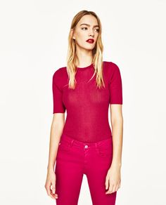 Image 2 of DUAL SKINNY JEANS from Zara