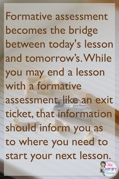 different types of writing assessments for middle school