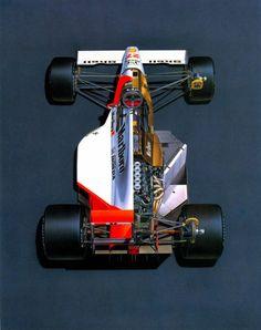 Ayrton Senna's McLaren MP45B