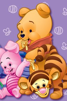 Best Collections of For Pooh Bear & Friends Wallpaper Disney, iPhone backgrounds and CartoonDesktop, Laptop and Mobiles. Winnie The Pooh Pictures, Cute Winnie The Pooh, Winne The Pooh, Winnie The Pooh Quotes, Winnie The Pooh Friends, Baby Disney Characters, Kids Cartoon Characters, Cute Disney Wallpaper, Cute Cartoon Wallpapers