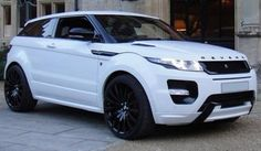 This range rover convertible is certainly an inspirational and extremely good idea Range Rover Evoque, Range Rover Sport 2018, Range Rovers, Super Sport, My Dream Car, Dream Cars, 4x4, Range Rover White, Lexus Ls 460