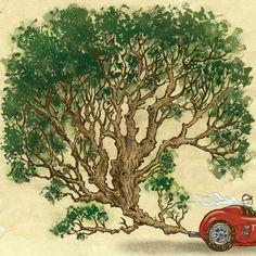 Artista reúne série de ilustrações falando sobre meio ambiente