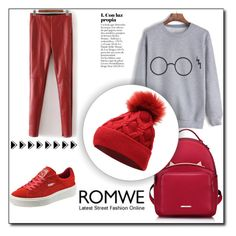 """""""romwe contest"""" by fashionvoice2015 ❤ liked on Polyvore featuring WithChic and Puma"""