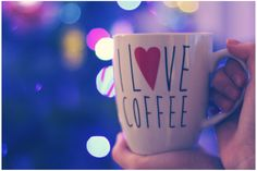 I love coffee mug. I Love Coffee, Coffee Mugs, My Love, Tableware, Dinnerware, Dishes, Coffee Cups, Place Settings, Porcelain