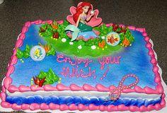 Little Mermaid Ariel Birthday Party Favors and Supplies Little Mermaid Birthday Cake, Little Mermaid Cakes, Little Mermaid Parties, Ariel The Little Mermaid, Birthday Party Favors, Birthday Parties, 5th Birthday, Birthday Ideas, Hans Christian