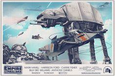 Star Wars Original Trilogy Posters - Created by Nicolas Alejandro Barbera