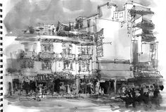 sketch-bkk-ASNEE-TASNA Urban Sketchers around the world...