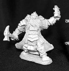 Reaper Miniatures (Thain Grimthorn, Dwarf Cleric 3717) RPG 25mm Minis