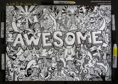 Doodle Art : 40+ Awesome Doodle Art Inspiration Examples - Jayce-o ...