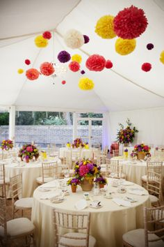 Colour Pop!  Colourful Country Garden Wedding ~ Whimsical Wonderland Weddings ~ Photo by Eternal Imaging