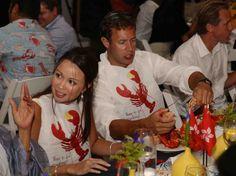 Nantucket Island Events: lobster bibs for rehearsal dinner clam bake Lobster Bake Party, Lobster Bib, Disposable Bibs, Plastic Bibs, Nantucket Wedding, Nantucket Island, Clams, Rehearsal Dinners, Event Planning