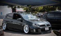 Stanced VW Golf