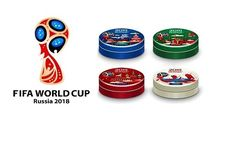 Russian Candy FIFA World Cup 2018 Russia Town Lollipop Football Official Product  | eBay