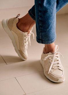 // The Good Trade // #thegoodtrade #lingerie #ethical #clothing #fashion #ecoconscious #ethicalfashion #affordableclothing #fairtrade #sustainable #sezane Ethical Shoes, Ethical Clothing, Trainer Boots, Best Trade, Lace Heels, Lace Up Trainers, Affordable Clothes, Parisian Style, Cotton Lace