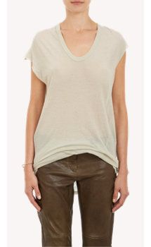 Isabel Marant Tissue-Weight Jersey Xani T-shirt