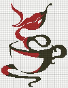 15 Best Fun Perler Beads Designs Easy To Get Started Cross Stitch Kitchen, Cross Stitch Art, Cross Stitching, Cross Stitch Embroidery, Hand Embroidery, Embroidery Designs, Modern Cross Stitch Patterns, Cross Stitch Designs, Cross Stitch Silhouette