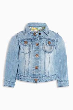 Mid Blue Denim Jacket (3mths-6yrs)