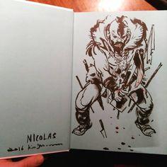Pen Sketch, Drawing Sketches, Comic Books Art, Comic Art, Wylie Beckert, Kim Jung, Dip Pen, Sketch Ideas, Detailed Drawings