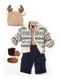 Moose hat Baby Clothing: Baby Boy Clothing: We ♥ Outfits Cute Baby Boy, Baby Kind, Baby Boys, Cute Babies, Baby Gap, Outfits Niños, Baby Boy Outfits, Kids Outfits, Winter Outfits
